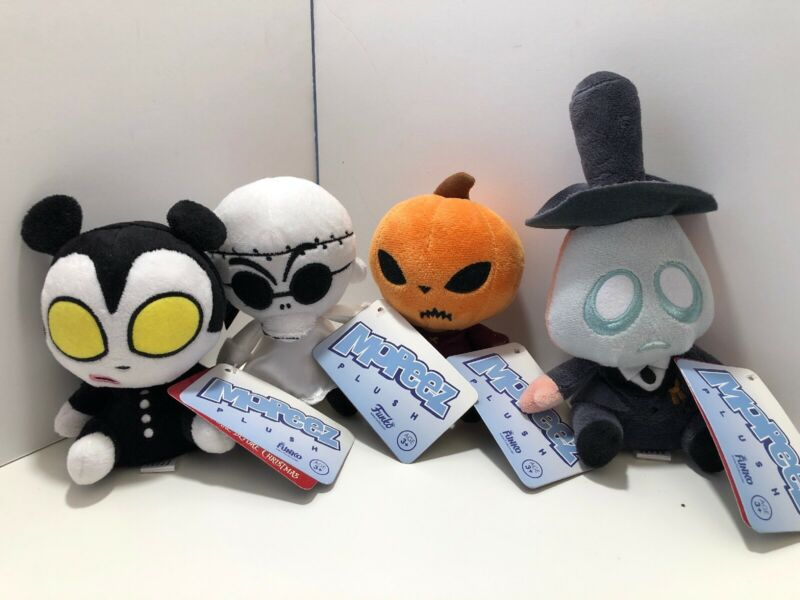 Nightmare Before Christmas Mopeez - Mayor, Pumpkin Jack, Finklestein, Vampire