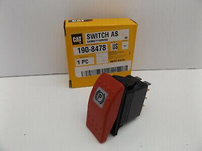 Cat 190-8478 Rocker Switch 1908478 Park Switch Fits D3g D4g D5g Cat Dozer