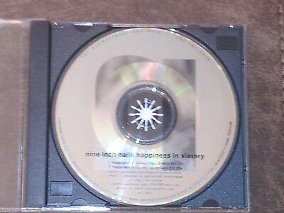 "Nine Inch Nails Super Rare ""Happiness In Slavery"" Promo CD Single"