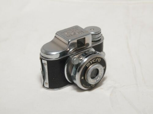 Mycro II Heavy Duty Hit Type Subminiature Film Camera. Cult Collectible. Japan.