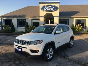 2018 Jeep Compass North 9 SPEED LEATHER 4X4 BLUETOOTH