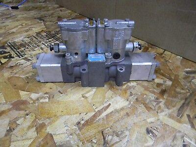 Schrader Bellows L525-59-221 Double Solenoid Valve Nos