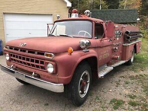 Camion pompier 1965