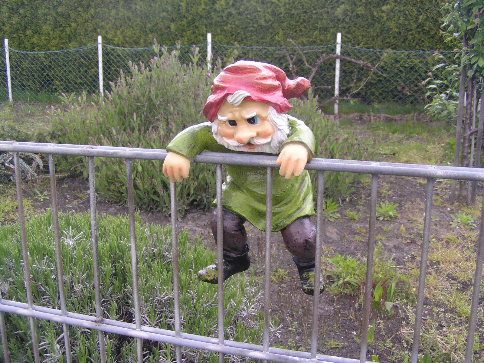 Gartenzwerg zum Hängen, ca. 25 cm, Garten, Dekoration, Zwerg, Gnom