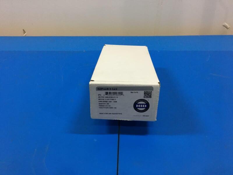 LOT OF 150 HID ISOPROX II CARD 1386LGCSN-K1112