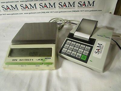 Mettler Toledo Model Bb2440 Balance Delta Range W Printer Model Lc-p45