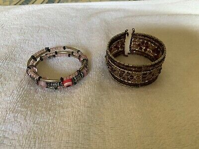 indian Style costume jewellery 2 X Bangle Bracelet for sale  Shipping to South Africa