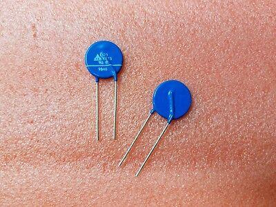 10x Siemens S20k275 Mov 275vac 350vdc 630pf Metal Oxide Varistor 20mm Radial