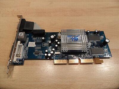 Steckkarte Grafikkarte Radeon 9250 128MB DDR HIS VGA DVI