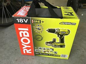 Ryobi 18v lithium drill driver set unopened Cooks Hill Newcastle Area Preview