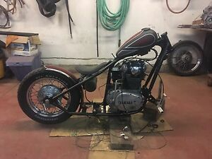 Xs650 bobber project for sale