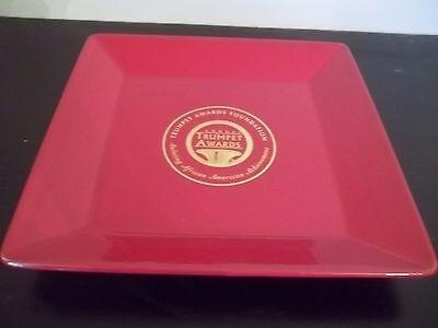 2007 TRUMPET AWARDS RED WAECHTERSBACH GERMANY PLATE AFRICAN AMERICAN ACHIEVEMENT