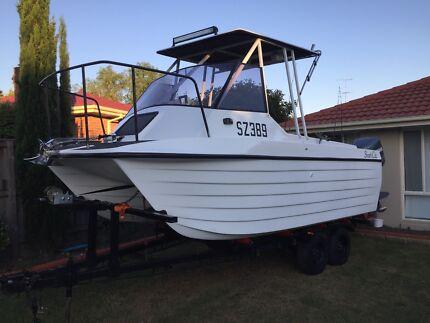 Bruce Harris Shark Cat 6M Fishing Boat