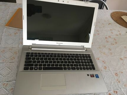 Lenovo white game laptop in great condition