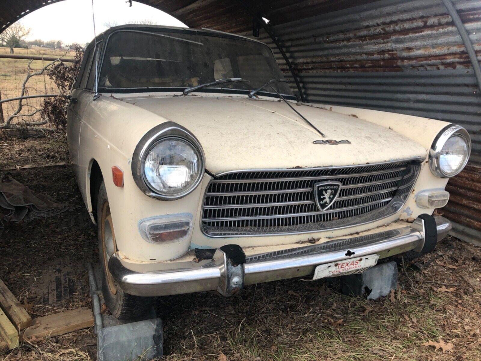 1969 Peugeot 404  1969 Peugeot 404