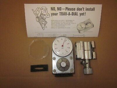 Trav-a-dial Model Gb-42 .001 Dial Refurbished