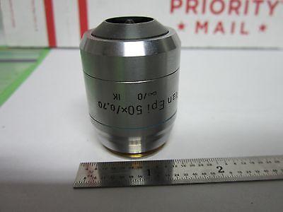Microscope Leica Reichert Polyvar Objective Ik Dic Epi 50x Infinity Binf1-v-42