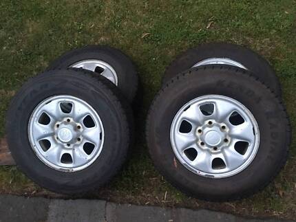 Hilux Wheels and  Tyres