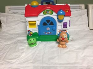 Fisher Price interactive house