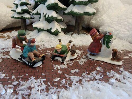 Dept 56 Dickens Village -Snow Children