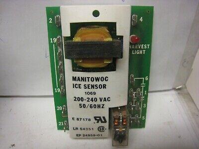 Manitowoc 1069 Ice Machine Ice Sensor 200-240 Vac 5060hz E-87178
