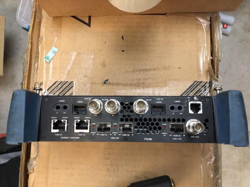 EXFO FTB-880 NetBlazer FTB-1 Module Tested Perfect Ethernet Optical Testing
