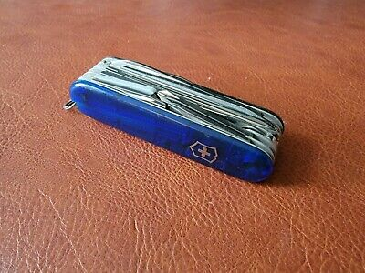 Vintage Victorinox Champion C Swiss Army Knife Great Condition! 027e