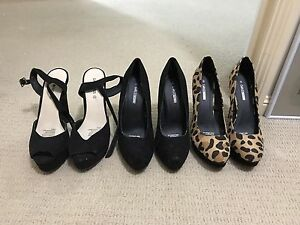 All 3 Size 8 High Heels Kooralbyn Ipswich South Preview