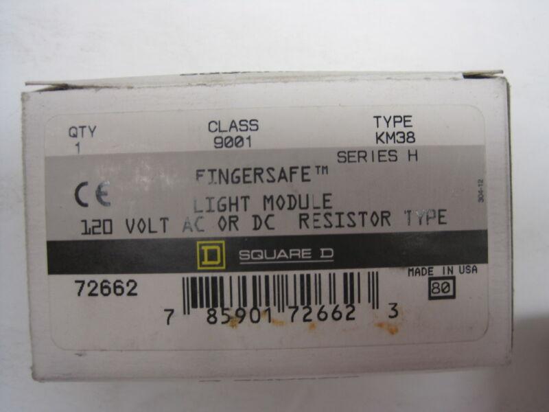 NEW SQUARE D 9001-KM38 LIGHT MODULE  RESISTOR  9001KM38