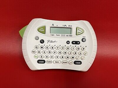 Brother P-touch Label Maker Handheld Printer Machine Office Pt-70 Tested