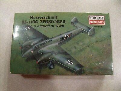 MINICRAFT / MESSERSCHMIT BF-110G ZERSTORER / Plastic Model Kit 1:144 Scale