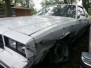 PARTING OUT 1984 Chevrolet Monte Carlo