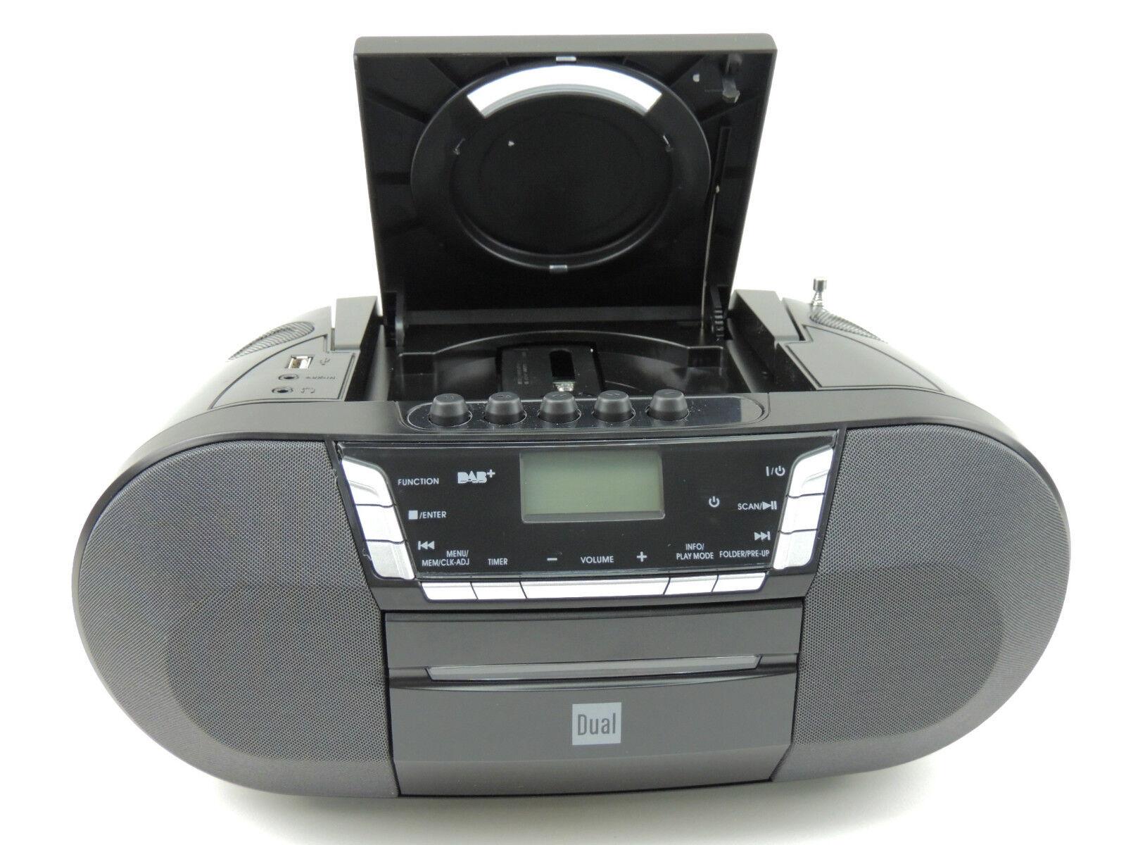 dual dab p 200 aux cd radio dab digital radio ukw. Black Bedroom Furniture Sets. Home Design Ideas