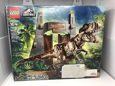 LEGO Jurassic World 75936: Jurassic Park: T. rex Rampage *Read Description*