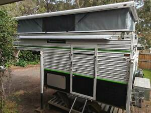 Custom made slide on caravan camper