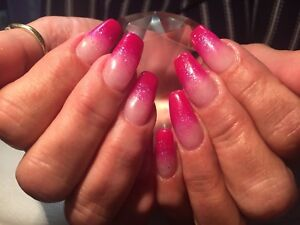 Gel & Fibreglass Gel Nails & Gel polish pedicure *TAX INCLUDED*