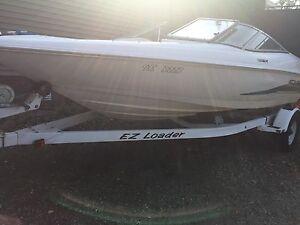 1997 19.5' Wellcraft Bow Rider Boat with EZ Loader Trailer