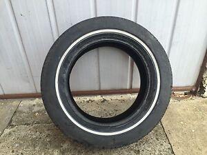 Vintage metric tyre MICHELIN TRX metric tire 225/55/390 white wall Sunshine Brimbank Area Preview