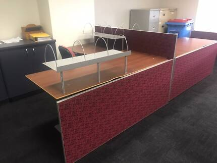 Two Corner Desks