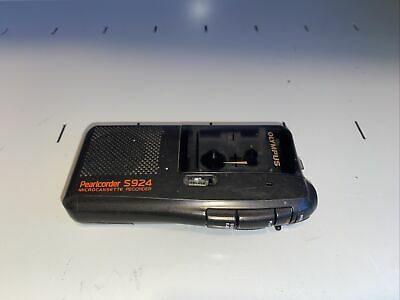 Olympus Pearlcorder S924 Handheld Cassette Voice Recorder