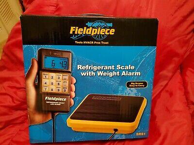 Hvac Brand New Fieldpiece Srs1 Refrigerant Scale With Weight Alarm.