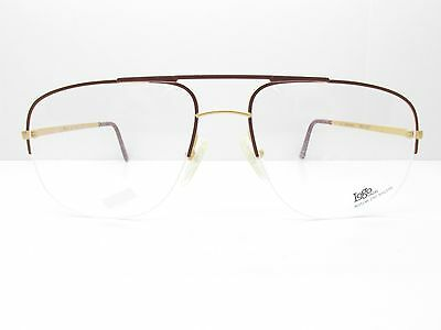 Logo Paris 210-32 Eyewear FRAMES 59-19-145 Brown Gold Aviator TV6 31507