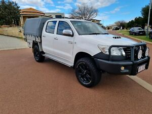 Toyota Hilux D4D set up to go