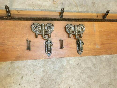 antique barn door rollers w/ 8