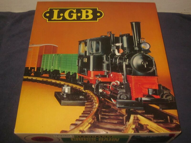 RARE Early LGB 20401 G Scale Steam Freight Starter Set LN/OB