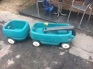 Chariot pour enfants avec remorque