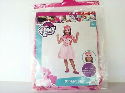 Brand New My Little Pony's Pinkie Pie Classic Dress Child Costume Size Small 4-6 - My Little Pony Baby Costume