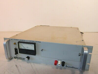 California Instruments 251tca Ac Power Supply Output Freq. 45hz-5khz 950w Max