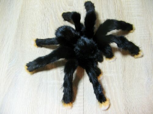 "Pink-Toed Tarantula 9"" Plush Spider Realistic Art Doll Fake Insect Handmade Toe"
