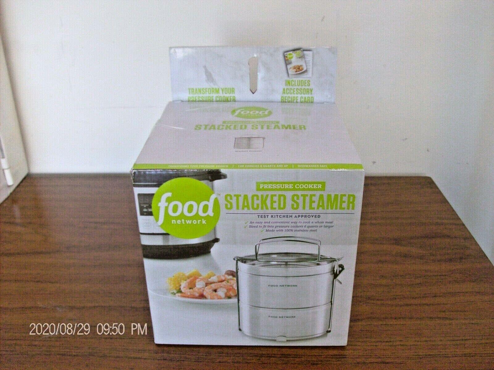 Food Network Pressure Cooker STACKED STEAMER